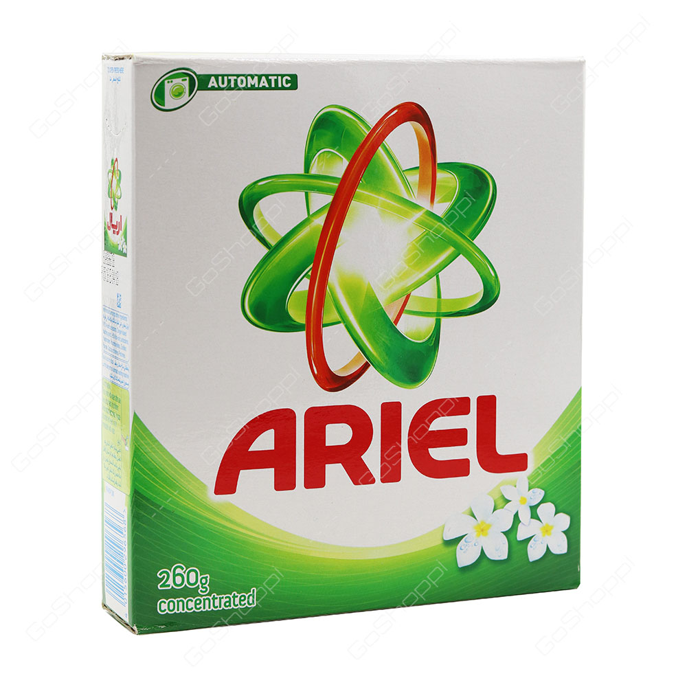 Ariel Green Automatic Front Load Concentrated Washing Powder 260 g